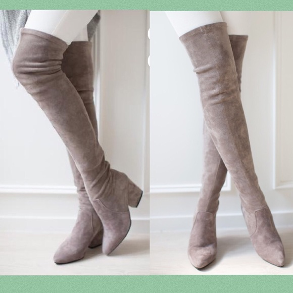 920e07785a3 Goodnight Macaroon Shoes - Carina Over the Knee Boots — Goodnight Macaroon
